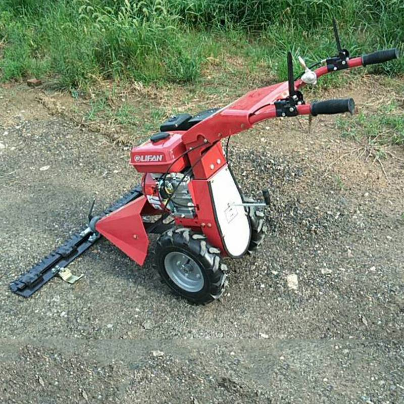 别墅庭院草坪修剪机 启航牌牧场开荒手推式割草机 汽油剪草机价格