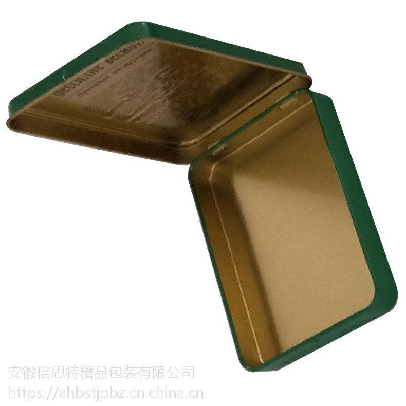 二度春铁盒 翻盖铁盒 保健品礼盒