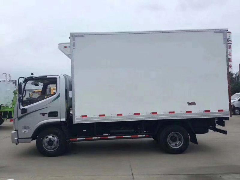 福田欧马可4米2冷藏车蔬菜水果海鲜车厂家直销排量3.76L