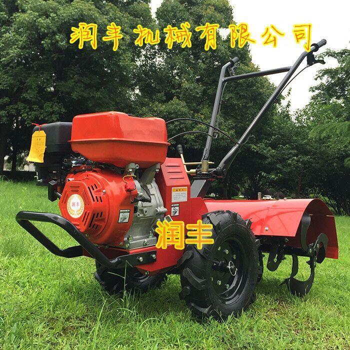 桃园果树间杂草清除旋耕机 小型背负式旋耕松土机 润丰