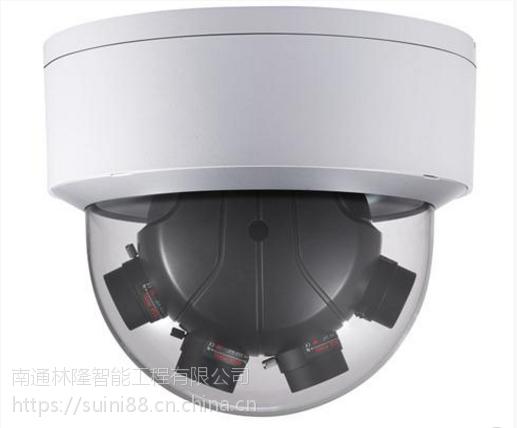 "DS-2CD6986F-(H)(24VAC) 800万1/1.8""星光级全景拼接网络摄像机"