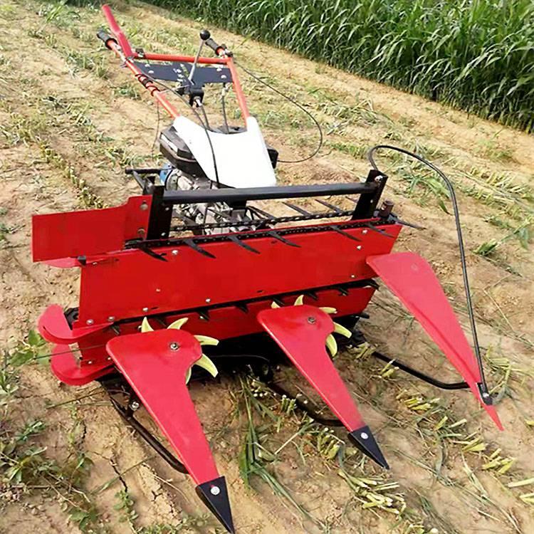 手推式大豆小麦收割机 玉米秸秆割倒机 小型割晒机