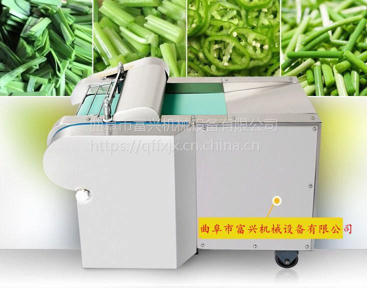 烟叶切丝切片机 富兴豆腐切块机 萝卜切块机厂家