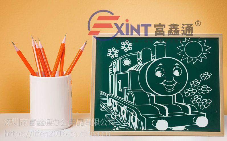 深圳单面绿板磁性7罗湖挂式儿童教学看板7家用写字板