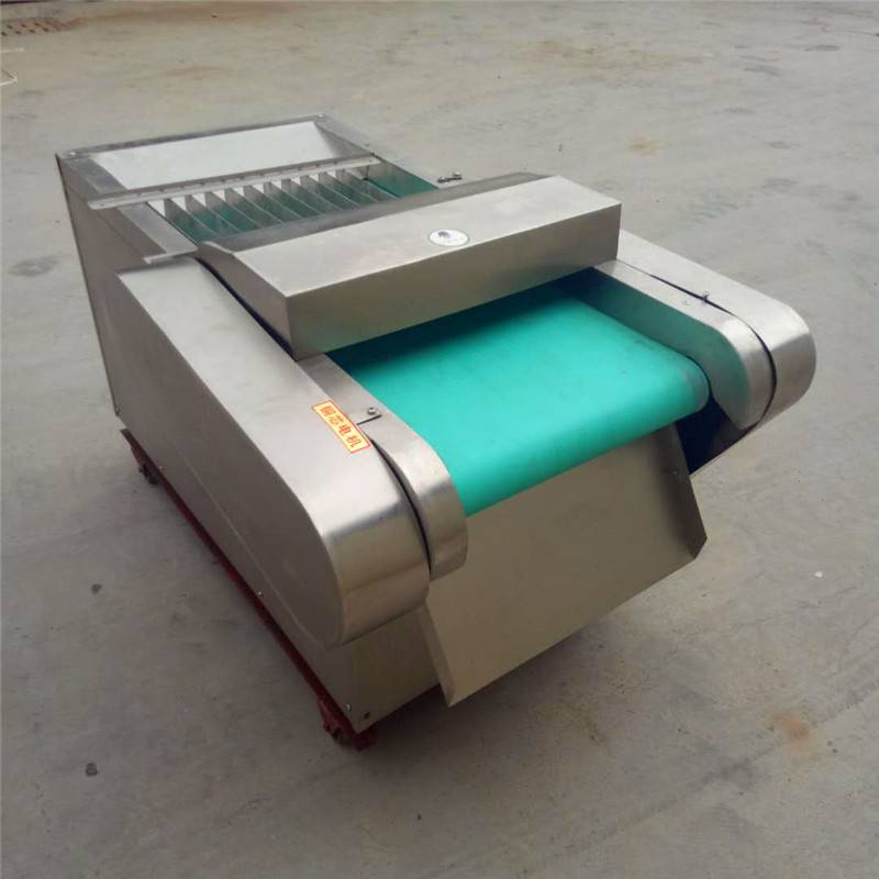 普航简单实用的海带切块机 豆腐切片机 山东蒜台切段机 质量
