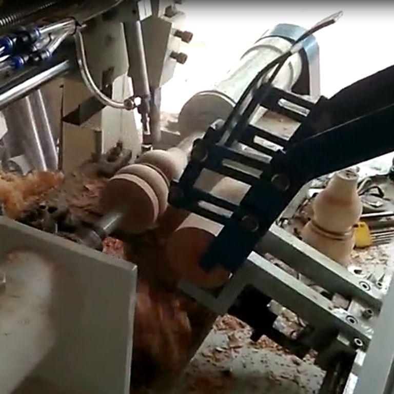 新型自动木柄机 伊姆斯椅木腿机 葫芦木腿机 沙发木脚机器