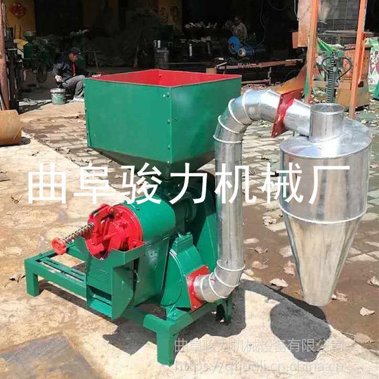 五谷杂粮脱皮制糁机 骏力牌 立式砂棍碾米机 高粱谷子碾米机 厂家