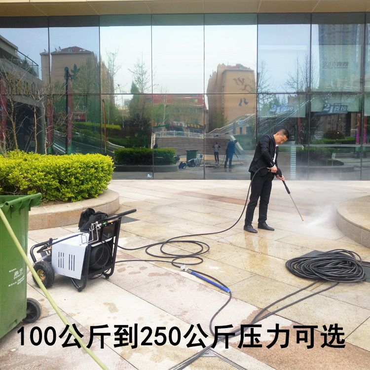 潍坊高压清洗机出售,济宁手推式高压清洗机