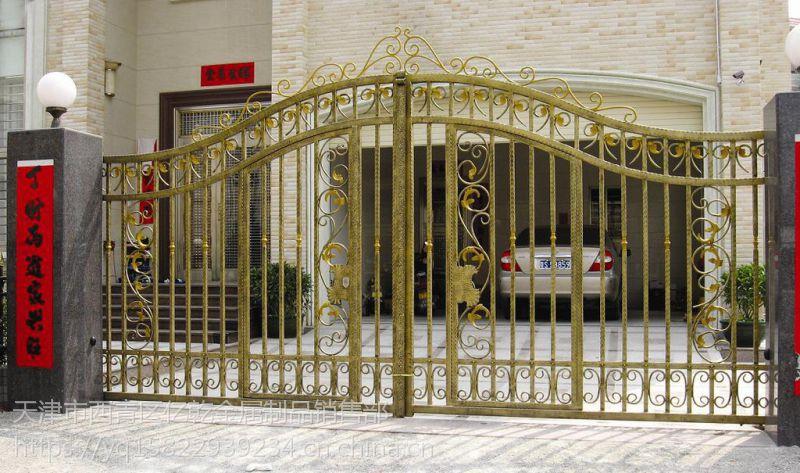 安装铁艺大门围栏伸缩门卷帘门玻璃门车库门等
