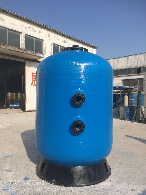 湖北襄阳玻璃钢软水罐锅炉软化水洗浴中心软化水处理效果