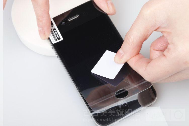 苹果无法密码iphone4GS防手机指纹贴膜磨砂手机苹果忽略直销wifi厂家图片