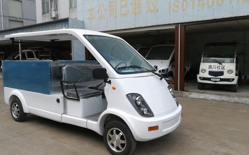 凯驰改装小型电动货车加货斗