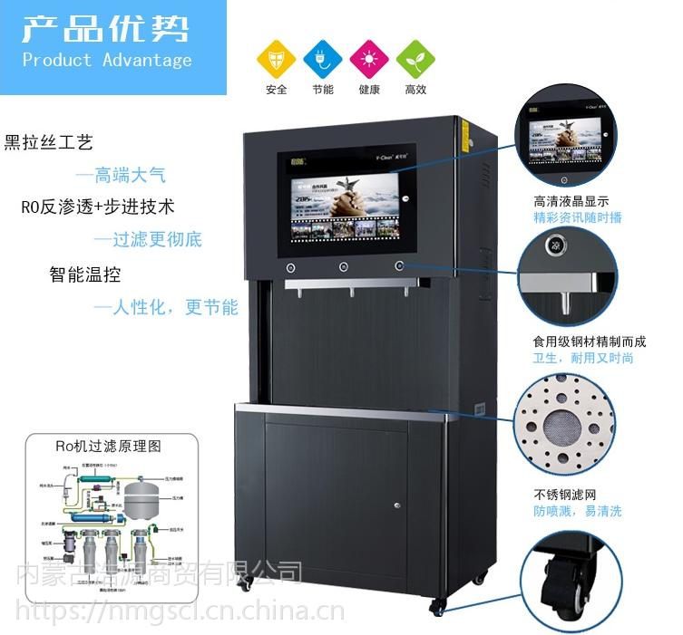 浩源正品步进式开水器WR-60L商用直饮水机 企业专用 饮水台 制水机