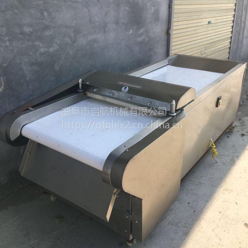 黑龙江不锈钢型土豆切片机 不锈钢型皮冻切丁机 启航牌千叶豆腐切块机