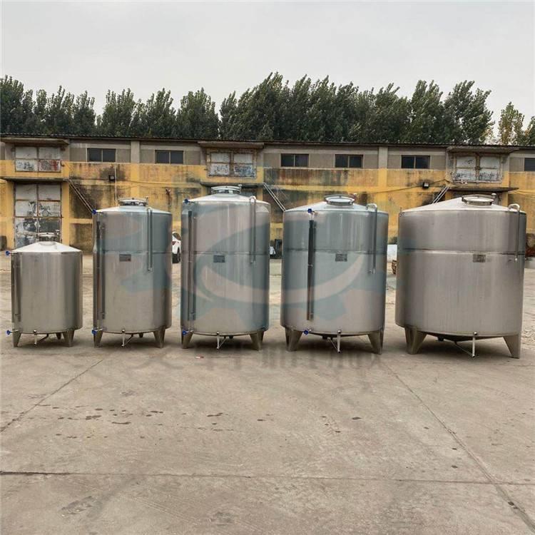 不锈钢发酵罐 现货供应黄酒发酵设备 小型不锈钢设备