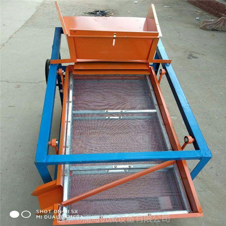 多用途粮食筛选机 电动小麦筛杂机