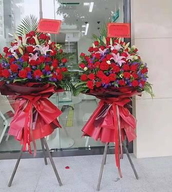 南宁南湖鲜花批发南湖开张花篮15296564995鲜切花香水百合 玫瑰花