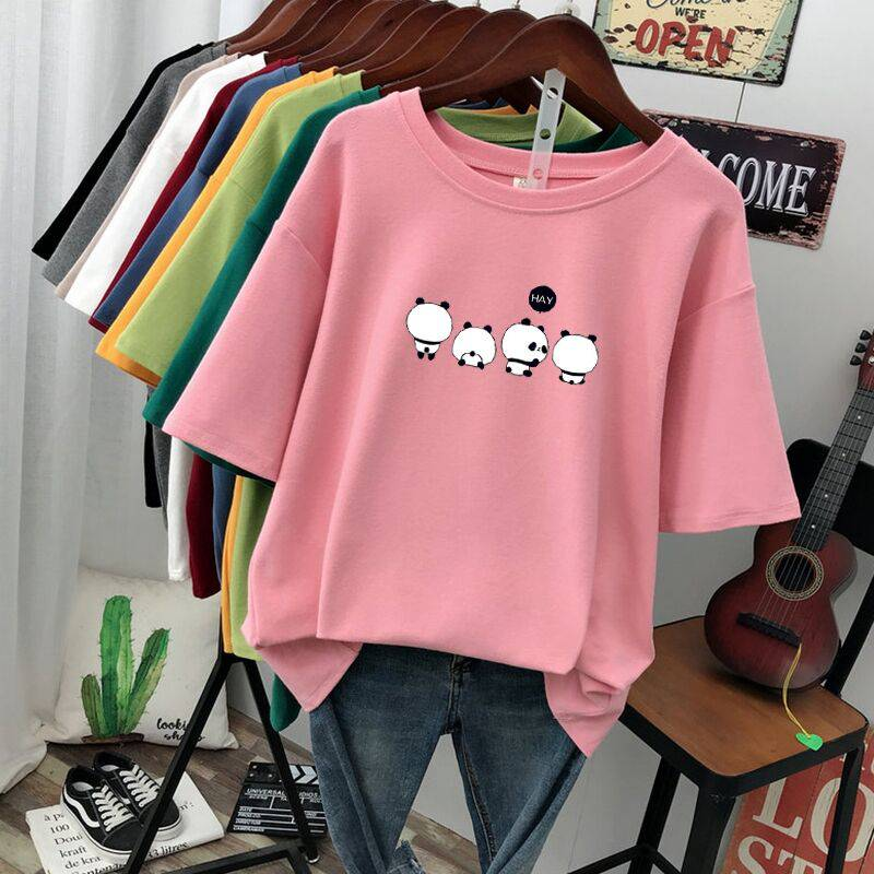 夏季短袖T恤便宜批发男女情侣装纯棉T恤厂家一手货源批发