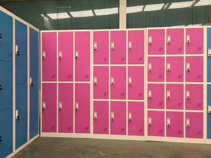 重庆学生柜子 员工储物柜 简约现代 重庆学校更衣柜生产厂家