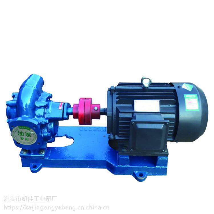 凯佳泵业销售 KCB-200型大流量增压齿轮泵 防爆卧式输油泵 灌装泵 耐磨无泄漏高温油泵