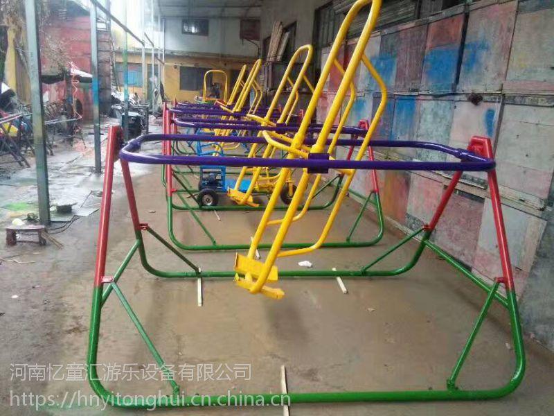 河北保定钢架小蹦极 广场经营经营儿童跳跳床 钢架蹦极价格