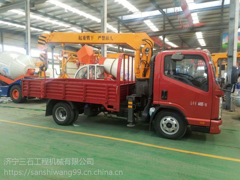 江苏南京可以上蓝牌的随车吊 凯马国五底盘 云内490发动机 3吨吊机现货