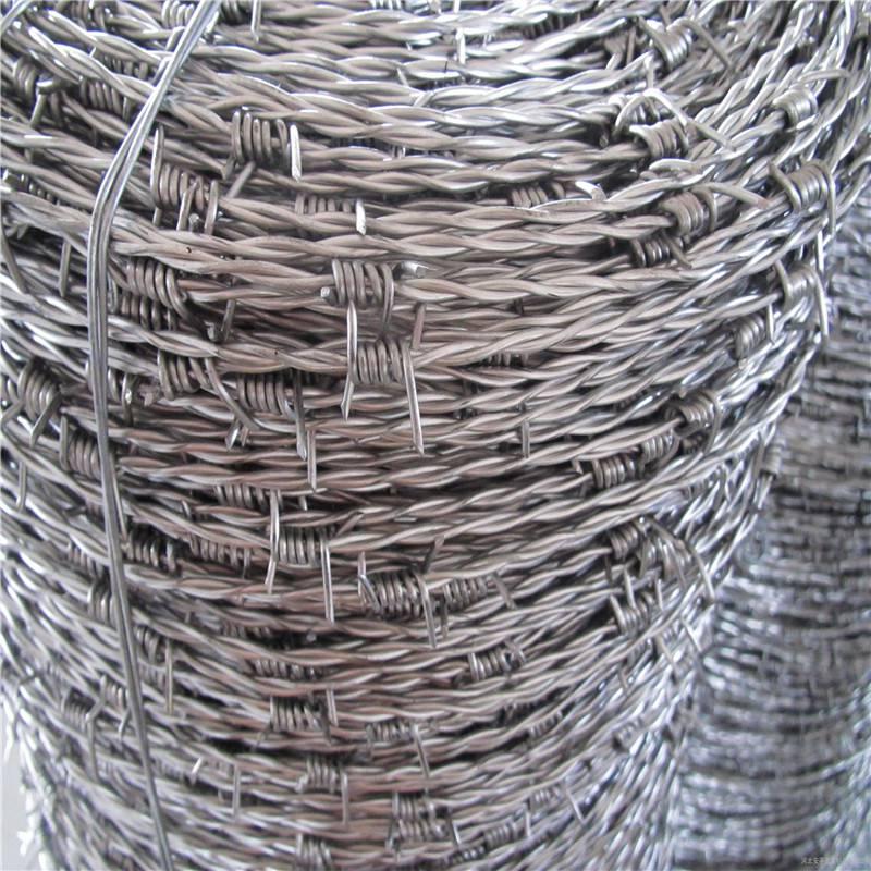 双股刺绳生产 刺绳护栏网报价 郑州刀片刺网
