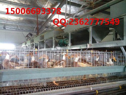盛众机械蛋鸭笼厂家批发 蛋鸭笼批发 5门蛋鸭笼养视频