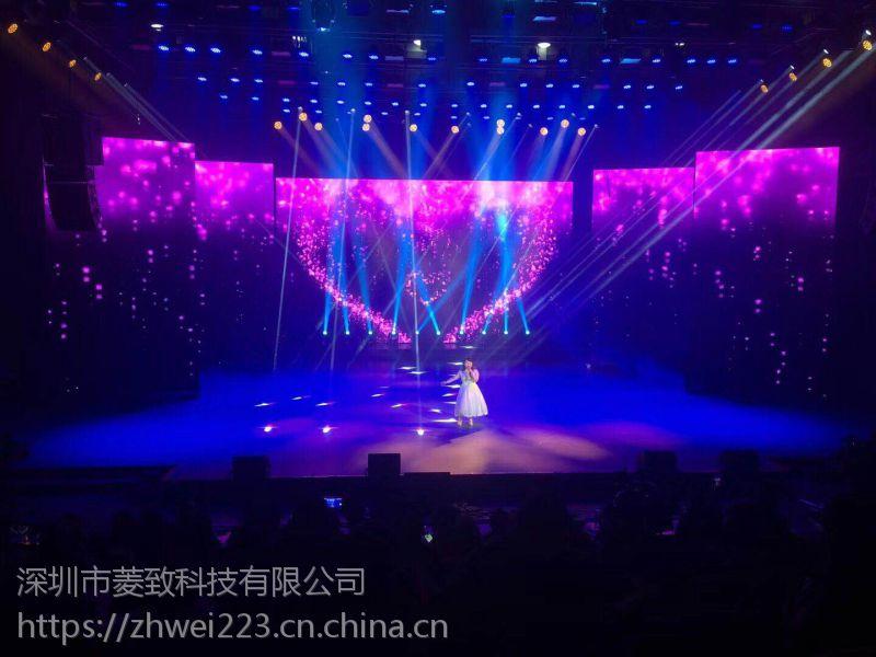 供应四川巴中售楼中心晶元P3室内高清LED电子显示屏、深圳市菱致科技