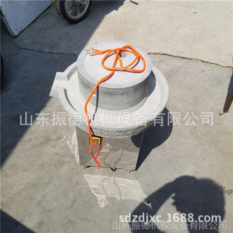 家用小型电动豆浆石磨米浆 电动石磨 辽宁ZD-30型豆腐小石磨价格