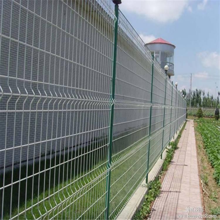 双边丝围栏 金属圈地围栏 小区防护网