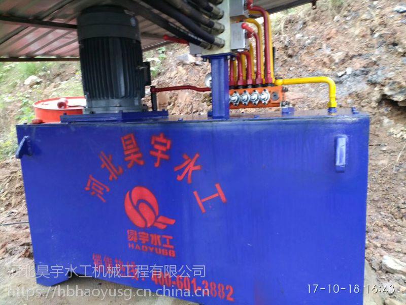 河北昊宇水工QYZ2*500KN液压启闭机加工定制价格合理