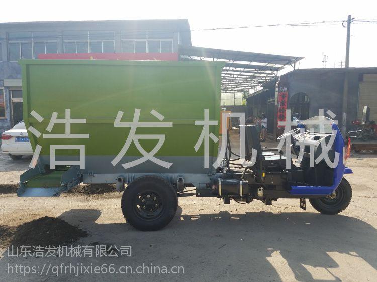 全自动电动撒料车 自走式撒料车