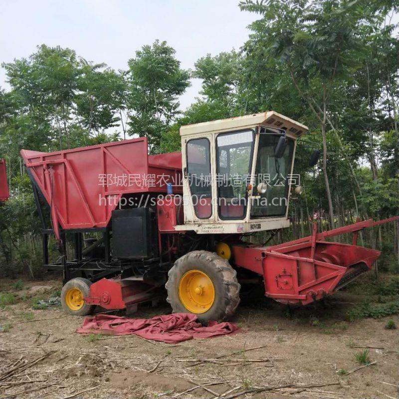 履带式牧草收割机 半自动皇竹草秸秆青储机 大型铡草机