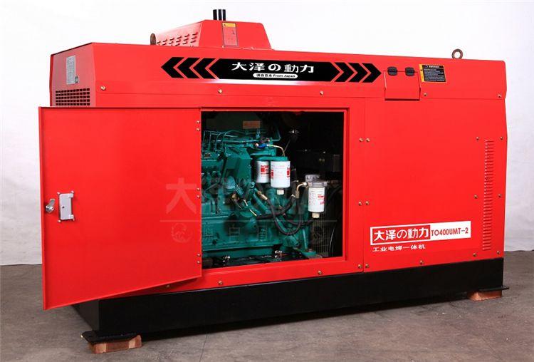 400A柴油发电电焊机油田管道用