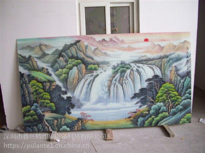 江西亚克力打印大型uv平板打印机背景墙浮雕效果打印机金属印刷机