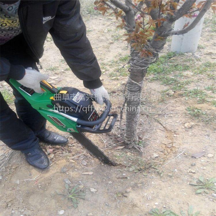 汽油冲击式起树机 园林苗圃专用起苗机 锯齿式挖树机