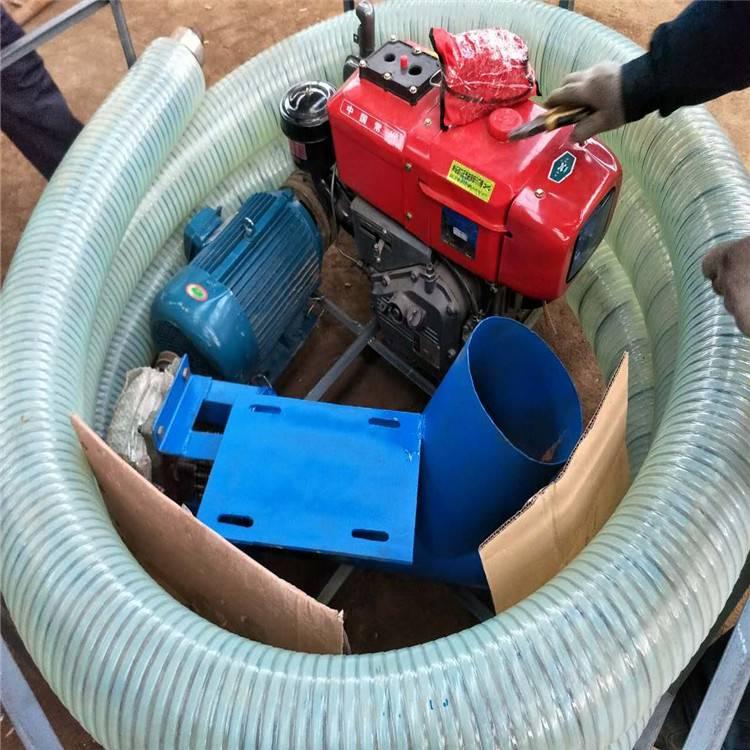 全自动大型脱粒机 润众小型家用移动式吸粮机