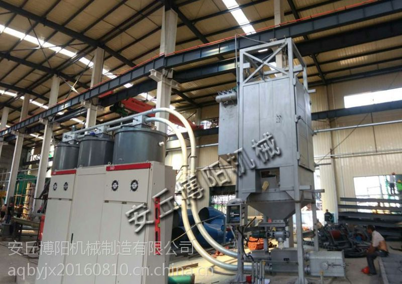 TCG2000氯化钙粉吨袋卸料机,博阳吨袋拆包机无粉尘