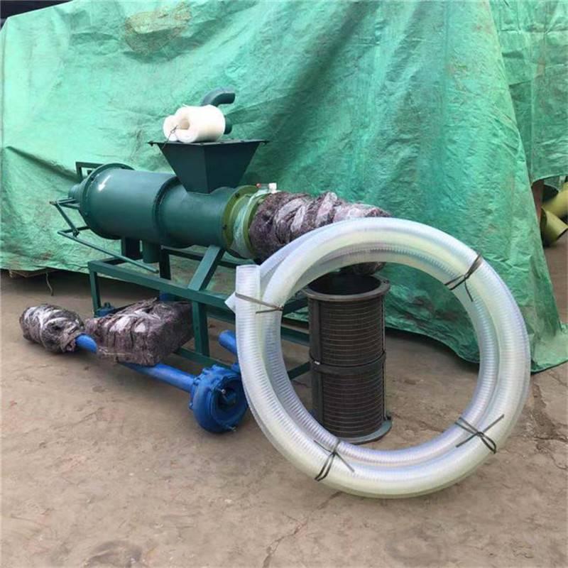 畜禽粪便清理 有机肥自作干湿分离机 型号齐全固液分离机