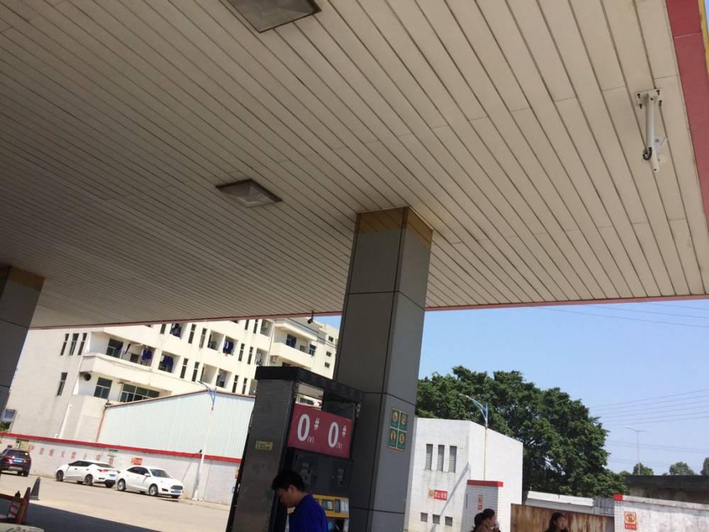 条形铝扣板天花 河北加油站吊顶防风条扣板