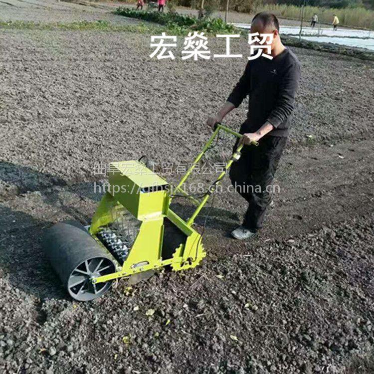 人力蔬菜籽播种机 香菜白菜胡萝卜播种机