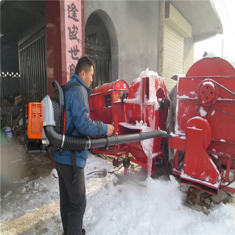 反冲启动的背负式吹雪机 门前路面积雪用吹雪机润众