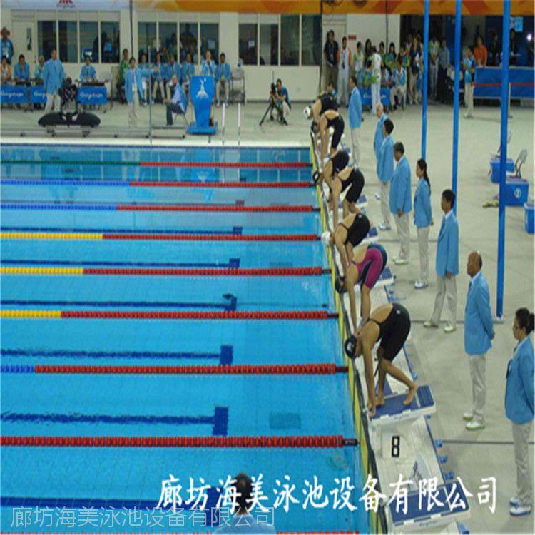 拉萨供应海美(泳鹰)标准防浪型泳道线 游泳池浮子 游泳池分隔线