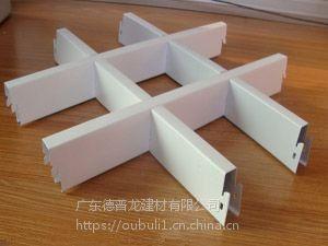 广东德普龙聚脂漆喷涂铝合金格栅天花吊顶系统厂家特卖