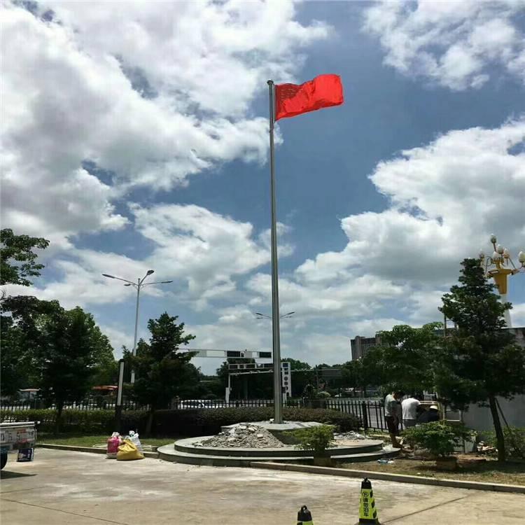 耀恒 专业定做 贵阳电动旗杆 -开磷集团总部不锈钢国旗杆