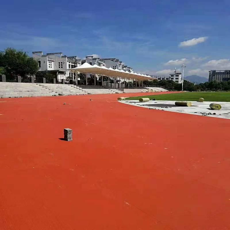 呼和浩特运动跑道价格厂家现货 奥博足球场塑胶跑道正品