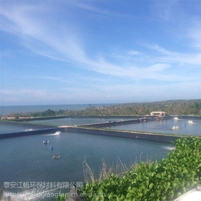 0.4mm新国标hdpe鱼塘土工膜 泥鳅养殖池塘防渗膜 厂家定制