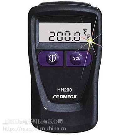 美国Omega欧米茄正品 HH200A 手持式数字温度计