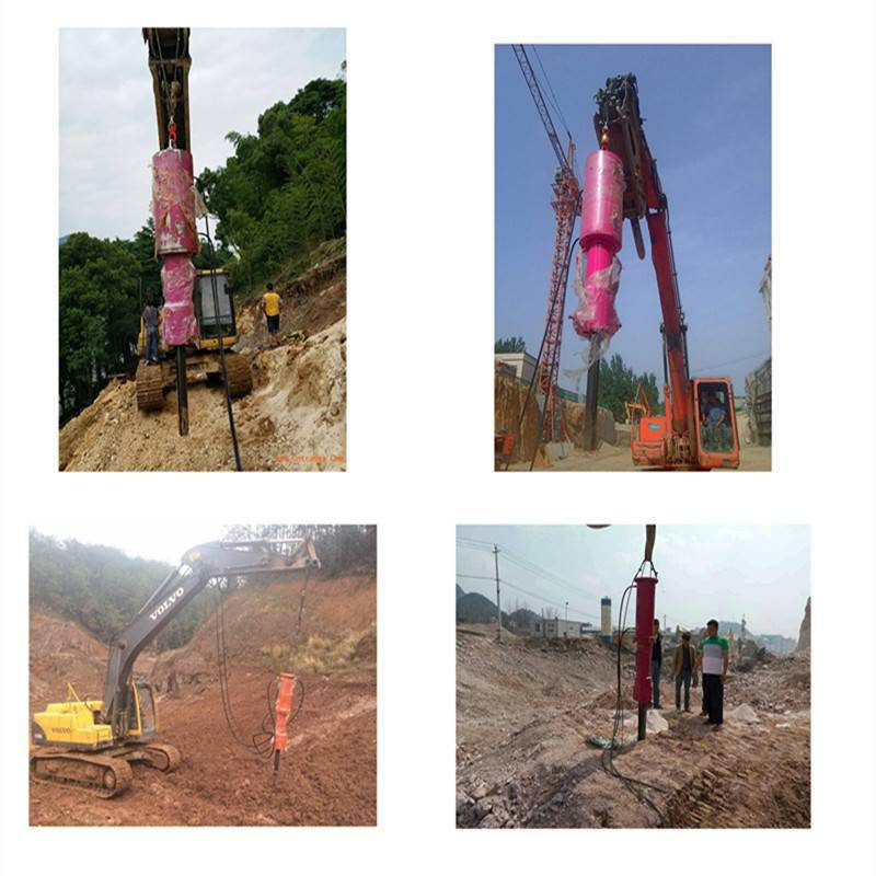 滁州中拓供应YX-5000液压劈裂机建筑机械